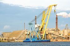 Free Floating Crane Stock Image - 20260641