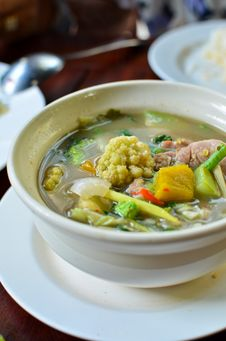 Free Spicy Vegetables Soup Stock Photos - 20260993