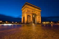 Free Arc De Triomphe Stock Photos - 20261033