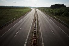 Free Empty Highway Royalty Free Stock Image - 20261476