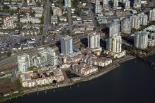 Free Aerial New Westminster Royalty Free Stock Image - 20261516
