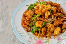 Free Spicy Salad , Thai Style Food Stock Photography - 20261672