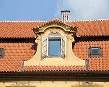 Free Baroque Window In The Roof Stock Photos - 20261953