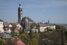 Free Kutna Hora, Gothic Church Royalty Free Stock Photos - 20262038