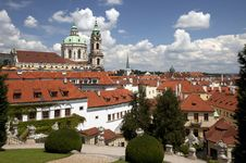 Free Prague, St. Nicholas Cathedral Royalty Free Stock Photography - 20262297