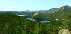 Free Panorama Of Lake Borovoe. Kazakhstan Stock Image - 20262621