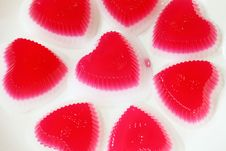 Free Hard Candy Heart. Stock Image - 20262871