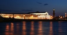 Free Panorama Of The Night Of Saint-Petersburg, Russia Royalty Free Stock Photos - 20263088