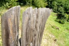 Free Timbered Fence. Stock Photos - 20263483