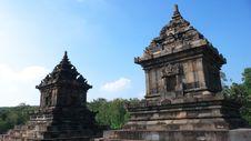 Free Javanese Hindu Temple Of Candi Barong Royalty Free Stock Photos - 20263978