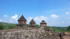 Free Javanese Hindu Temple Of Candi Barong Royalty Free Stock Photography - 20264007