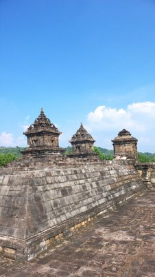 Free Javanese Hindu Temple Of Candi Barong Stock Image - 20264101
