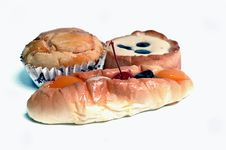 Free Sweet Bread Royalty Free Stock Image - 20264586