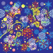 Free Abstract Pattern With Flowers Stock Photos - 20264613