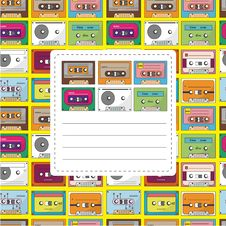Free Music Tape Card Stock Photos - 20264693