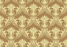 Free Seamless Damask Wallpaper Royalty Free Stock Photo - 20265225