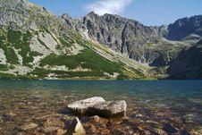 Free Lake In Mountains Royalty Free Stock Image - 20265346
