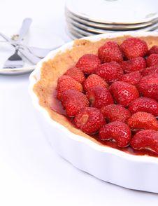 Free Strawberry Tart Royalty Free Stock Photo - 20267345