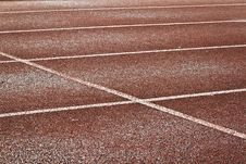 Free Empty Running Track Stock Images - 20267644