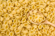 Free Pasta And Wooden Spoon Royalty Free Stock Photo - 20268585