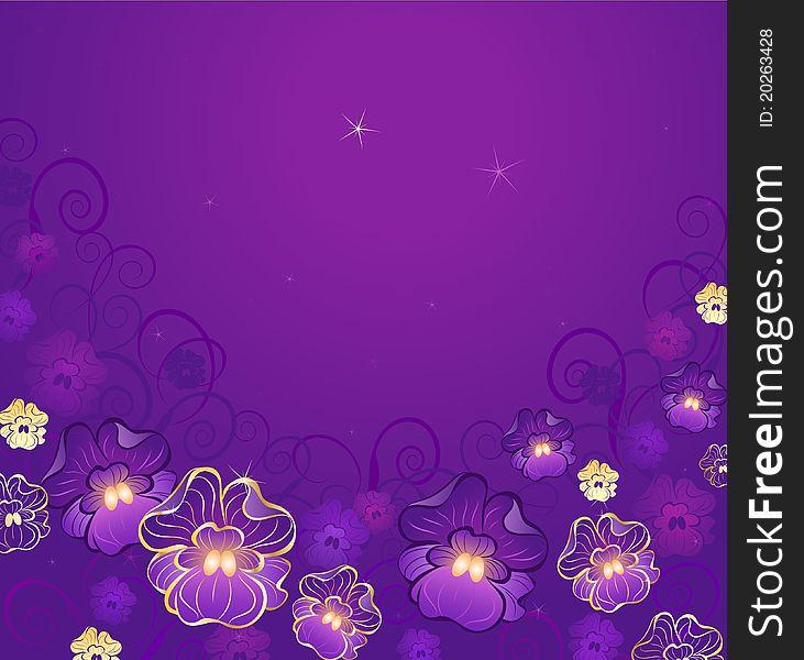 Luxurious violet