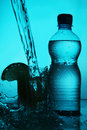 Free Silhouette Of Bottle And Glass Stock Image - 20270851