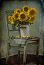 Free Bouquet Of Sunflowers And Apricots Royalty Free Stock Photography - 20274687