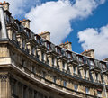 Free Facade Of The Old Building In Paris, France Stock Images - 20276584