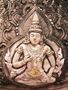 Free Thai Style God (Deva) Statue Stone Royalty Free Stock Images - 20279549