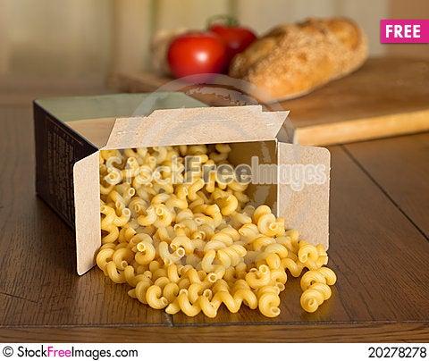 Free Uncooked Pasta Royalty Free Stock Photos - 20278278
