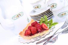 Free Strawberry Tart Royalty Free Stock Photo - 20274035
