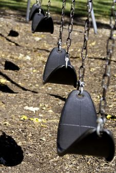 Free Swings Royalty Free Stock Photo - 20274095