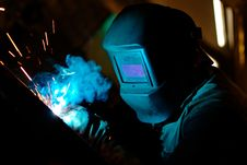 Free Welder Stock Photography - 20274132