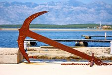 Free Old Anchor Stock Photography - 20274562