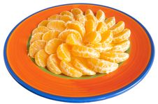 Free Plate Of Tangerines Stock Images - 20274834