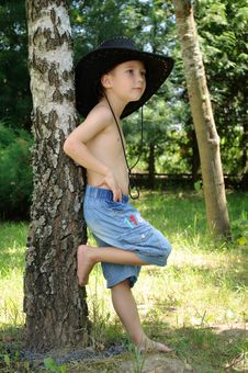 Free Boy In Hat Stock Image - 20274861