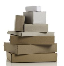 Free Stacked Cardboard Boxes Stock Images - 20275014