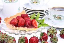 Free Strawberry Tart Stock Image - 20275151