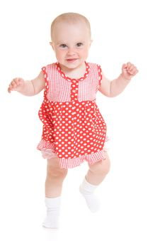 Free Baby In Dress Stock Photo - 20275390
