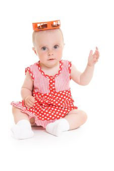 Free Baby In Dress Royalty Free Stock Photos - 20275478