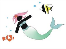 Free Mermaid Stock Images - 20275544
