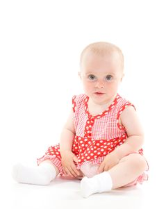 Free Baby In Dress Stock Photos - 20275573