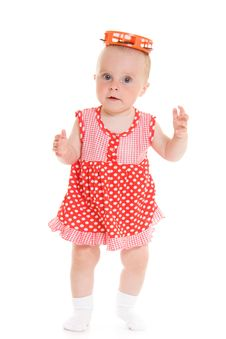 Free Baby In Dress Stock Photography - 20275592