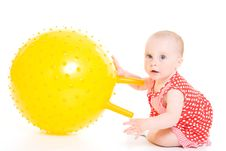 Free Baby In Dress Stock Photos - 20275673