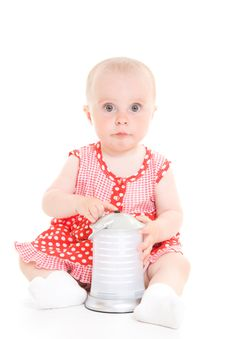 Free Baby In Dress Stock Photos - 20275713