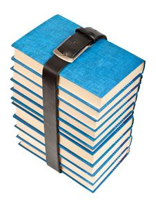 Free Many Books And Belt Stock Photo - 20276030