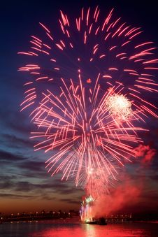 Free Colorful Fireworks In The Night Sky. Stock Photography - 20276642