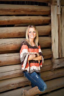 Free Portrait Of A Pretty Girl Stock Photo - 20276690