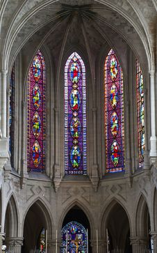 Free Church Of Abbey Of Saint-Germain, Paris Royalty Free Stock Photography - 20276807