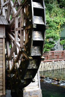 Free Water Wheel Royalty Free Stock Image - 20277326